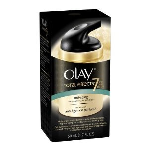 Olay Total Effects Anti-Aging Moisturizer Fragrance-Free 1.7