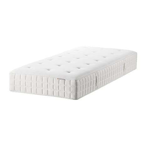 Ikea Hyllestad - colchón de muelles, Firme Mediano, Blanco - 90x200 cm: Amazon.es: Hogar