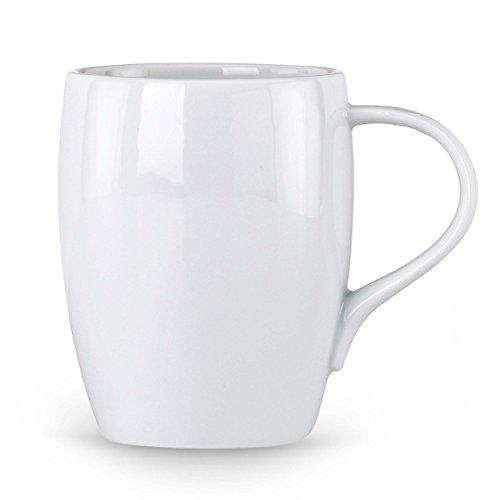 Dansk Classic Fjord 12-Ounce Mug (Mug Coffee White Classic)