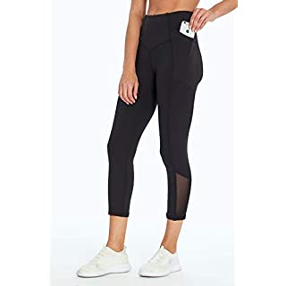 Jessica Simpson Sportswear Ace Pocket Capri Legging, Meteorite, Small