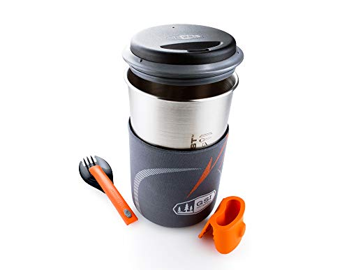 GSI Outdoors Glacier Stainless Minimalist for Ultalight, Ultra-Minimal Cooking Systemswhile Backpacking