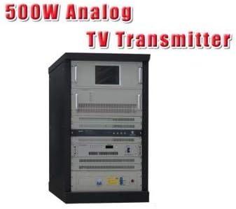 GOWE 500 W TV analógica transmisor para televisor estación 4U Rack: Amazon.es: Bricolaje y herramientas