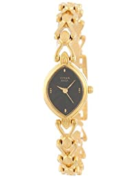 Titan Women's 2250YM11 Raga Jewelry Inspired Gold-Tone Watch