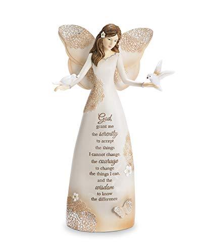 Serenity Angels - Pavilion Gift Company 19105 Serenity Angel Figurine, 9