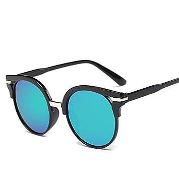 Yukun Gafas de sol Gafas de Sol Retro Gafas de Sol Espejo ...