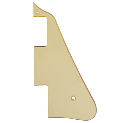 Kmise A5620 Gold Mirror Electric Guitar Pickguard Scratch Plate For Gibson LP Replacement from Kmise