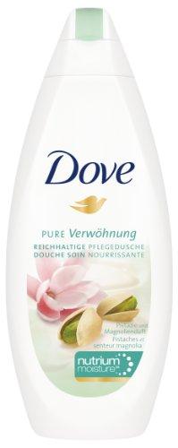 Dove Duschgel Pure Verwöhnung mit Pistazie & Magnolienduft, 3er Pack (3 x 250 ml)