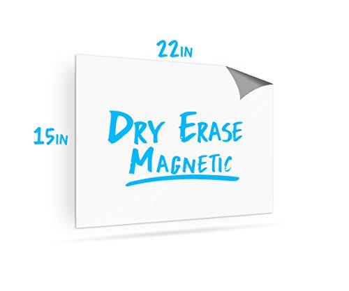 Magnetic Dry Erase Whiteboard Sheet for Fridge - 15