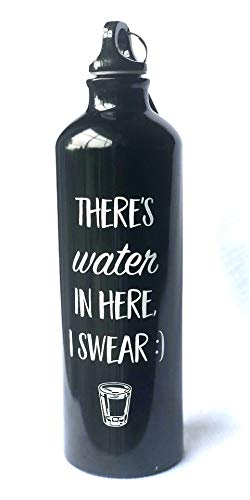 Everyday Water Bottle - Aluminum BPA Free - 26oz - Creative Design - Funny Saying