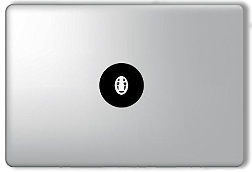 Away Logo Decal (No Face Apple Logo Spirited Away Studio Ghibli - Apple Macbook Laptop Vinyl Sticker Decal)