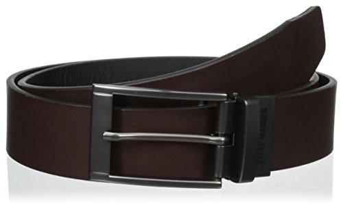 Steve Madden Mens 35Mm 2Tone Reversible Belt Brown/Black