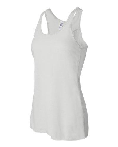Ladies White Tank Top - 6
