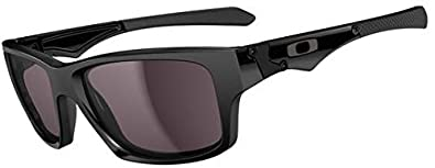 Oakley Jupiter Squared Men's Lifestyle Sports Sunglasses - Polished  Black/Warm Grey