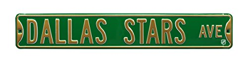Authentic Street Signs NHL Officially Licensed, REAL 3 Foot, Premium Grade Solid SteelEmbossed STREET SIGN- Prime Wall Decor for Home, Office, Man Cave- Perfect Gift for Him!!