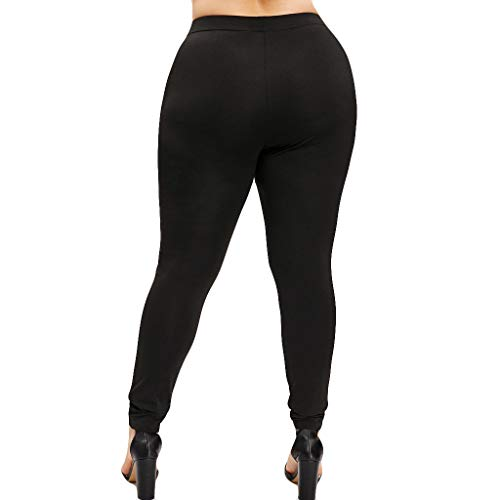 Mid Thigh Workout Shorts for Women, Red Yoga Pants for Women,Women High Waist Yoga Sport Casual Pants Plus Size Willow Spike Leggings Pants by PLENTOP (Image #2)