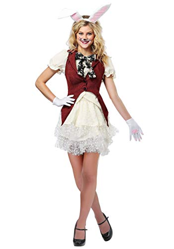 Female White Rabbit Costume (Women's White Rabbit Costume)