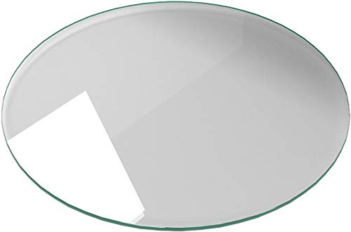 Milan RD303010PEC 30'' Round Tempered Glass Top 3/8'' Thick with Pencil Polish Edge by Milan (Image #5)