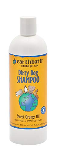 - Earthbath All Natural Orange Peel Oil Shampoo, 16-Ounce