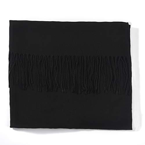 Noir Hiver Pour Écharpes Treillis Écharpe Automne Viscose Femmes 200cm Amdxd xFqC6z