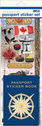 Passport Sticker Sets PP59226 Passport or Scrapbooking Sticker Set- - Stickers Scrapbook Canada