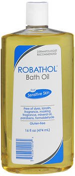 RoBathol Bath Oil, Sensitive Skin - 16 oz, Pack of 4 PHARMACEUTICAL SPECIALTIE