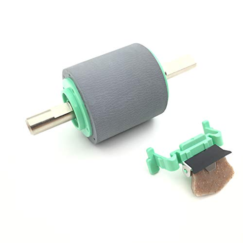OKLILI LD6187001 PUR-A0001 SP-A0001 LD6092001 Paper Pickup Separation Roller Pad Compatible with Brother ADS-2000W ADS-2100W ADS-2500W ADS-2600W