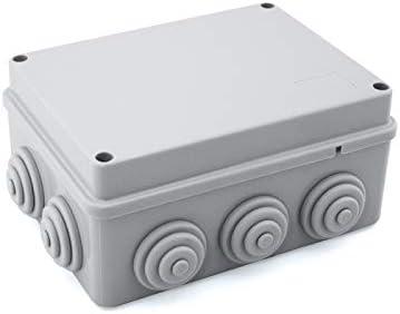 Caja de empalme superficie gris estanca 150x110x70mm: Amazon.es: Bricolaje y herramientas