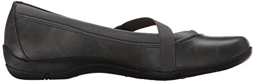 Lifestride Womens Drastic 2 Flat Gray
