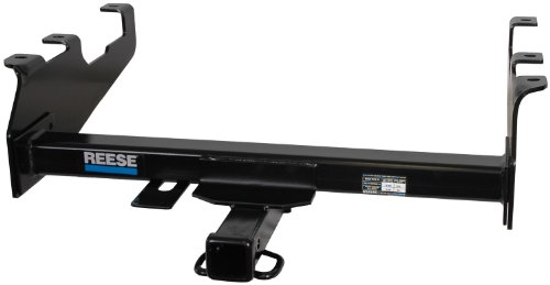 """Reese 37081 Class III Custom-Fit Hitch with 2"""" Square Receiver opening, includes Hitch Plug Cover"""