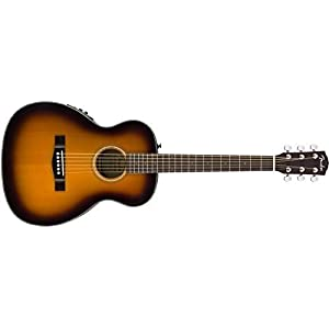 Fender CT-140SE, Sunburst, Rosewood Electro Acoustic Travel Guitar & Hard Case