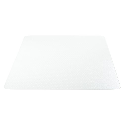 Deflecto Polycarbonate EconoMat, Clear Chair Mat, All Carpet Types Use, Rectangle, Straight Edge, 46