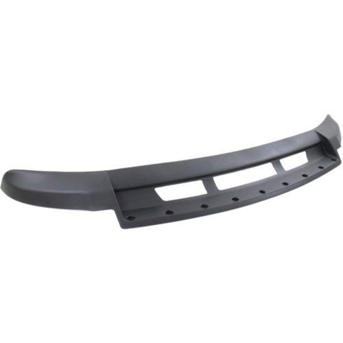CAPA Garage-Pro Front Valance for RAM 2500 P//U 2013-2018 Air Dam Textured with Off Road Pkg All Cab Types