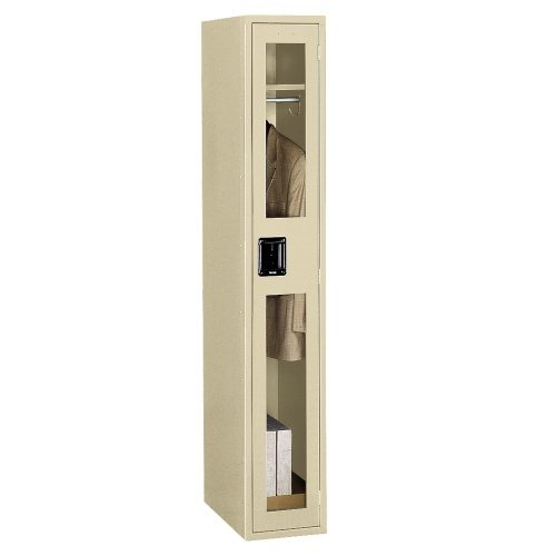Single Tennsco - Tennsco Single Tier Locker with SeeThru Doors