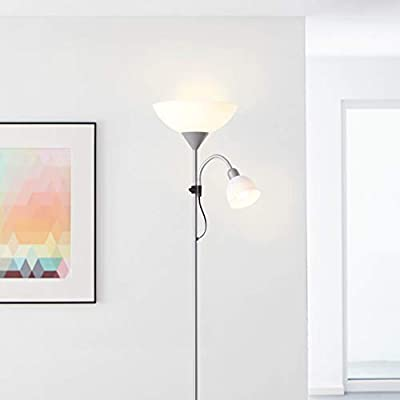Lámpara de pie LED con tuya inteligente, 1 bombilla E27 de 9 ...