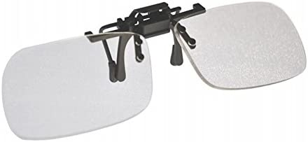 e44108d0d92 Amazon.com  Small Clear Clip-on Flip-up Magnifying Reading Glasses +1.50  Diopter  Industrial   Scientific