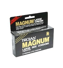Trojan Magnum Condoms - Quantity - Box of 108 by Trojan Condoms