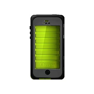 low priced f3f71 bdef1 OtterBox Armor Series Waterproof Case for iPhone 5 - Retail Packaging -  Neon (Discontinued by Manufacturer)