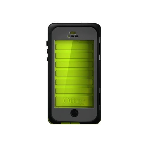 OtterBox Armor Series Waterproof Case for iPhone 5 – Retail Packaging – Neon (Discontinued by Manufacturer)