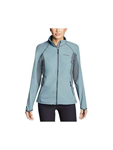Eddie Bauer Women's Sandstone 2.0 Soft Shell Jacket, Marina HTR Regular ()