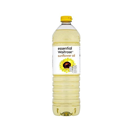 Sunflower Oil essential Waitrose 1L - Pack of 6