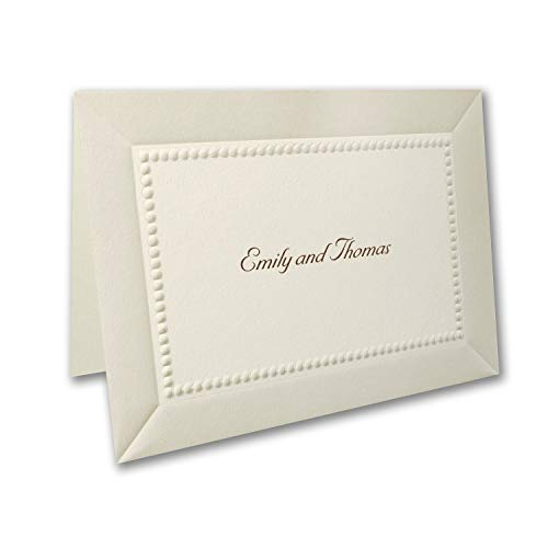 450pk Pearl Elegance - Note Card and Envelope-Thank You Notes by Carlson Craft (Image #1)