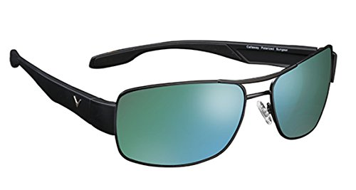 affordable Callaway Sungear Eagle Golf Sunglasses, Gray Lens and Green Mirror