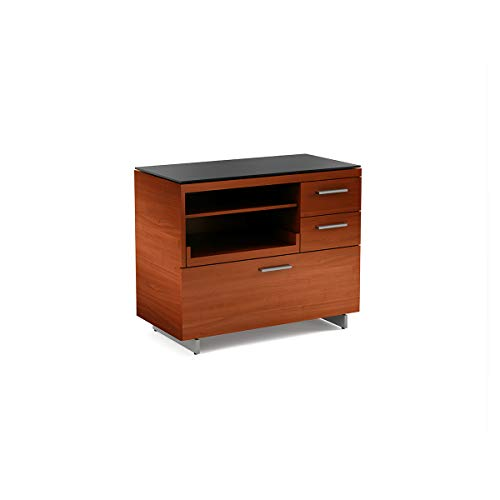 Cabinet Bdi Cherry - BDI 6017 CH Sequel Multifunction File & Storage Cabinet, Natural Cherry