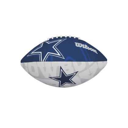 Wilson NFL Junior Team Logo Football (Dallas Cowboys)