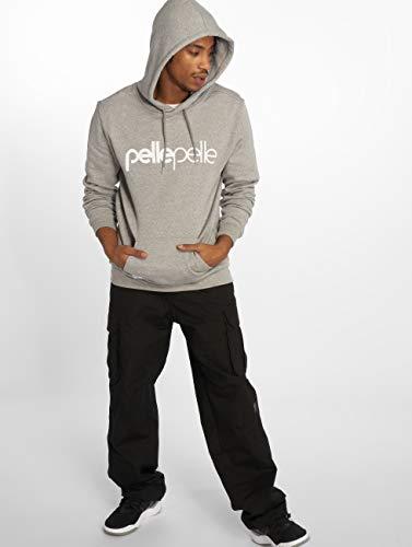 2 Sudaderas Gris Pelle Hombres The Basics Back p04tq