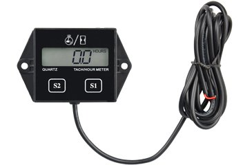 Contempo Views Tach/Hour Meter HM011N: LCD gasoline Induc...