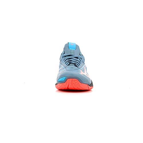 1 fierycoral bl Mirage Zapatillas Para Multicolor Wave bluemirage Mujer 2 Mizuno 001 t4BqxzwAW