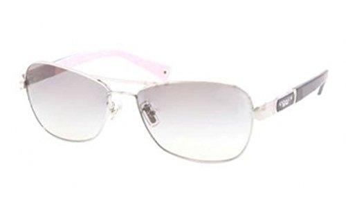 Coach Sunglasses - Caroline / Frame: Silver Lens: Grey - Coach Women Glasses