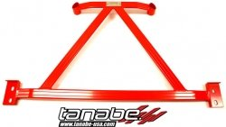 - Tanabe TUB149C Sustec 2-Point Under Brace for Nissan Cube, Front