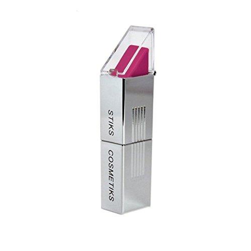 フクシア口紅 x2 - STIKS Cosmetiks Fuchsia Lipstick (Pack of 2) [並行輸入品] B072P27FMT